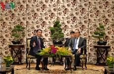 Ciudad Ho Chi Minh robustece cooperación con Laos