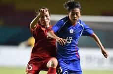 Selección femenina de Vietnam queda eliminada en cuartos de final en Juegos Asiáticos