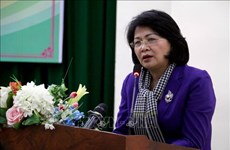 Vicepresidenta vietnamita visita distrito norteño de Hai Hau