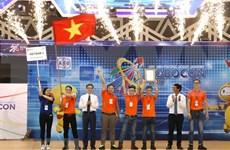 Vietnam gana su séptimo triunfo en Concurso Internacional de Robótica Asia-Pacífico