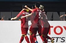 Medios de prensa asiáticos destacan desempeño de selección olímpica de fútbol de Vietnam