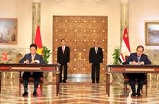 Vietnam y Egipto emiten declaración conjunta