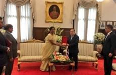 India y Tailandia buscan intensificar la cooperación en defensa
