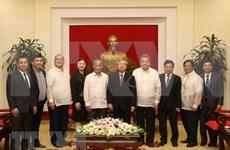Partidos gobernantes de Vietnam y Filipinas fomentan la cooperación