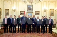 Presidente de Vietnam concluye visita estatal a Egipto