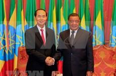 Presidente de Vietnam concluye con éxito gira por Etiopía y Egipto