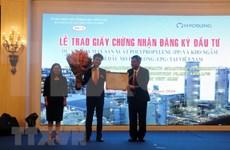 Grupo surcoreano financia proyecto millonario en provincia vietnamita