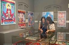 Pinturas folclóricas de Vietnam se presentan en antigua ciudadela de Hanoi