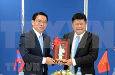 Asociaciones de amistad de Vietnam y Laos por estrechar cooperación bilateral