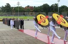 Tributo al Presidente Ho Chi Minh en Día de la Independencia de Vietnam