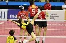 Selección femenina vietnamita de sepak takraw gana medalla de plata en Juegos Asiáticos