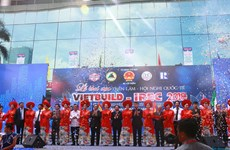 Inauguran exposición internacional VIETBUILD en Hanoi
