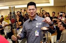 Antorcha de Juegos Paralímpicos de Asia inicia su recorrido por provincia de Indonesia