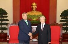 Visita del dirigente partidista vietnamita a Hungría abre expectativas a nexos bilaterales