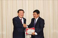 Ciudad Ho Chi Minh y localidad surcoreana de Gangwon agilizan lazos en sectores potenciales