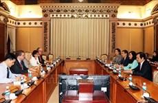 Ciudad Ho Chi Minh y Estado de Hessen de Alemania impulsan cooperación educativa