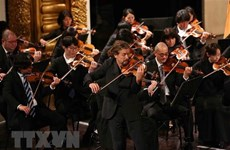 Presidente de Vietnam asiste a velada música en ocasión del 45 aniversario de nexos con Japón