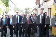 Secretario general del Partido Comunista de Vietnam visita ciudad húngara de Szentendre