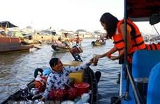 Delta del Mekong de Vietnam apunta promover el turismo local