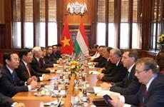 Firman Vietnam y Hungría numerosos documentos de cooperación