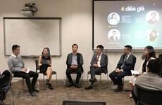 Jóvenes vietnamitas en Australia comparten experiencias de éxito