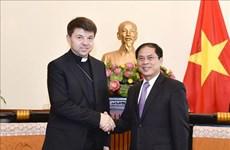 Promueven relaciones entre Vietnam y la Santa Sede