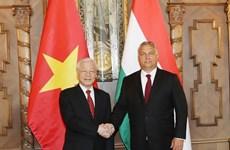 Secretario general del PCV concluye visita oficial a Hungría