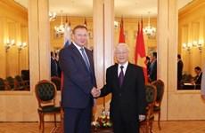 Visita de Phu Trong abre nuevos horizontes en la cooperación entre Vietnam y Rusia