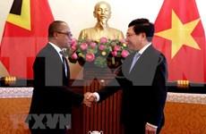 Vietnam dispuesto a estrechar relaciones con Timor Leste, afirma vicepremier