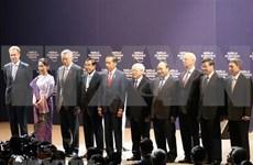Inauguran oficialmente Foro Económico Mundial sobre la ASEAN en Hanoi