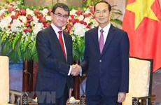 Presidente vietnamita aprecia el desarrollo práctico de asociación estratégica con Japón