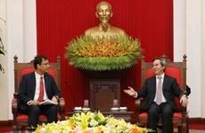 Dirigente partidista reafirma política de Vietnam de facilitar condiciones para inversores
