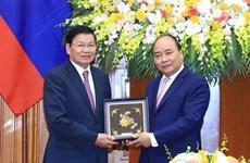 Premieres de Vietnam y Laos se entrevistan al margen del FEM- ASEAN