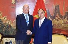 Klaus Schwab destaca éxitos de FEM- ASEAN 2018 en Vietnam