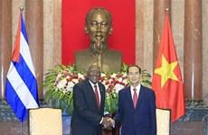Vietnam decidido a continuar fortaleciendo la solidaridad con Cuba