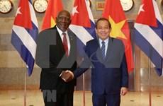 Vietnam y Cuba reiteran atención al enriquecimiento de las relaciones bilaterales
