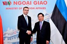 Vietnam y Estonia concretan medidas para viabilizar sus nexos