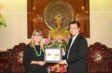 Ciudad vietnamita de Can Tho busca fomentar la cooperación con Australia en diversas áreas