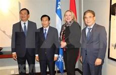 Vietnam robustece lazos con provincia canadiense de Quebec