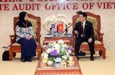 ASOSAI 14: Vietnam y Malasia impulsan cooperación en  auditoría