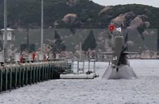 Visita Vietnam submarino de Fuerza Marítima de Autodefensa de Japón