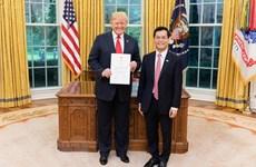 Presidente Trump elogió el desarrollo de asociación integral Vietnam-EE. UU.