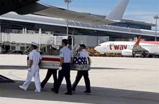 Repatriados restos de militares estadounidenses caídos durante la guerra en Vietnam