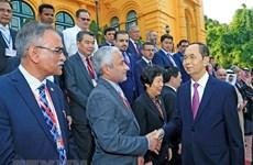 Presidente de Vietnam destaca papel de ASOSAI al desarrollo en entidades fiscalizadoras superiores