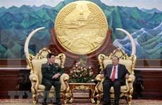 Robustecen Vietnam y Laos nexos en defensa