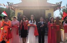 Inauguran primera pagoda budista vietnamita en Hungría