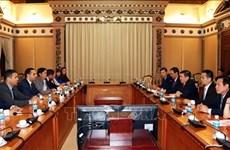 Ciudad Ho Chi Minh y Bulgaria fomentan la cooperación económica