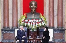 Vietnam atesora nexos de amistad con Belarús, afirma presidenta interina