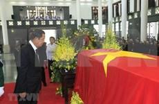 Delegaciones de numerosos países asisten a honras fúnebres del presidente de Vietnam en Hanoi