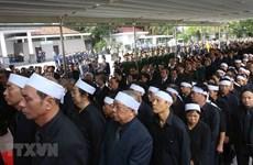 Vietnam llora la partida física de su querido presidente